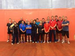 GTE Table Tennis Camp, Scunthorpe TTC