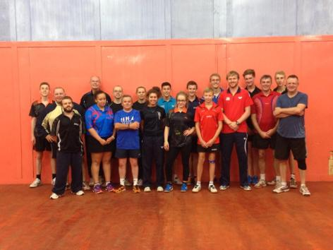 GTE Table Tennis Camp, Scunthorpe TTC