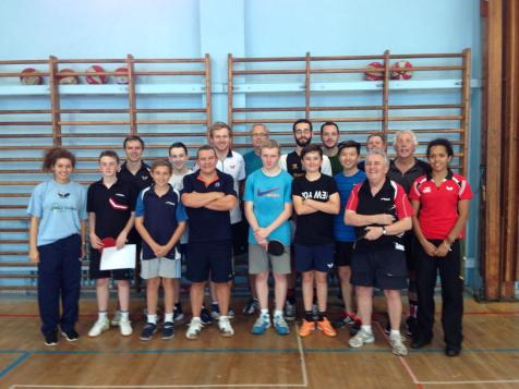 GTE Table Tennis Camp, Waterloo TT Club, Liverpool