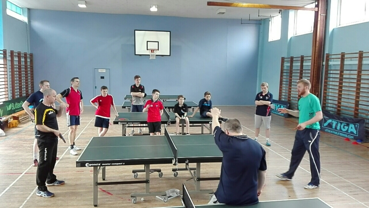 GTE Table Tennis Camp at Waterloo TTC