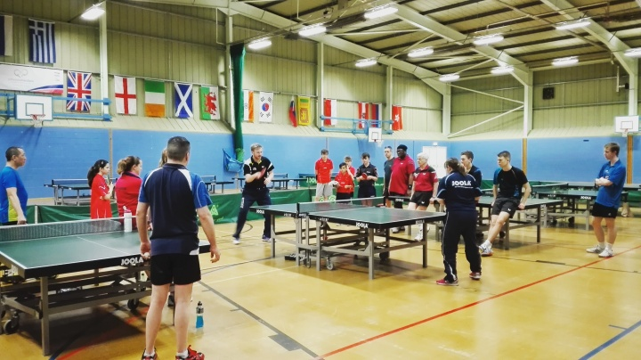 Easter Table Tennis Training Camp Review